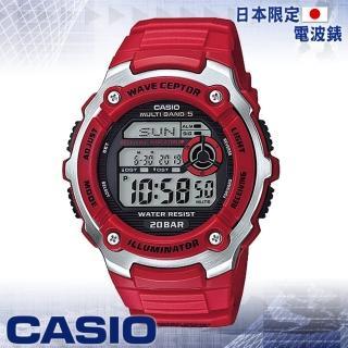 【CASIO 卡西歐 電波錶】日系電波錶-電波接收功能(WV-M200)