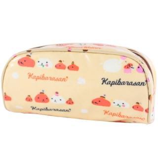 【kapibarasa】水豚君甜點系列筆袋(黃色)