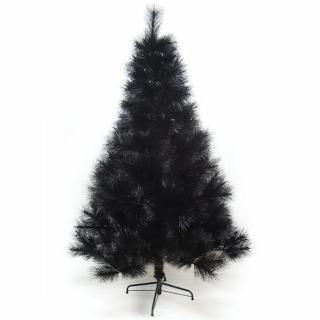 【聖誕樹】台灣製10尺/10呎300cm特級黑色松針葉聖誕樹裸樹-不含飾品-不含燈(.)