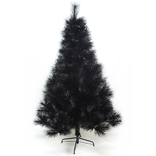 【聖誕樹】台灣製4尺/4呎120cm特級黑色松針葉聖誕樹裸樹-不含飾品-不含燈黑(.)