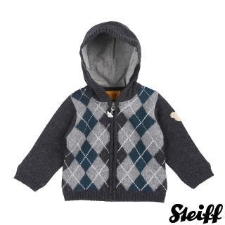 【STEIFF德國精品童裝】連帽長袖羊毛衣(外套)
