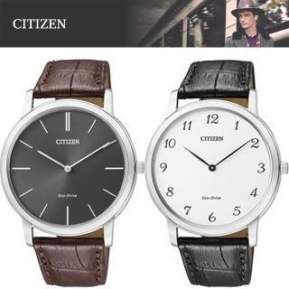 【CITIZEN 星辰】時尚都會光動能紳士腕錶(AR1110-11H_AR1110-11B)