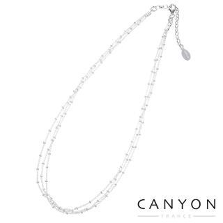 【CANYON】CANYON法式浪漫三串式項鍊