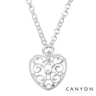 【CANYON】CANYON細緻雕刻愛心項鍊