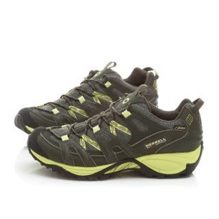 【MERRELL】男款 Pantheon Sport GTX多功能健行運動鞋(ML522075-墨綠)
