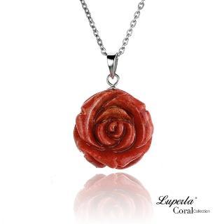 【大東山珠寶】玫瑰之戀珊瑚項鍊 - 大