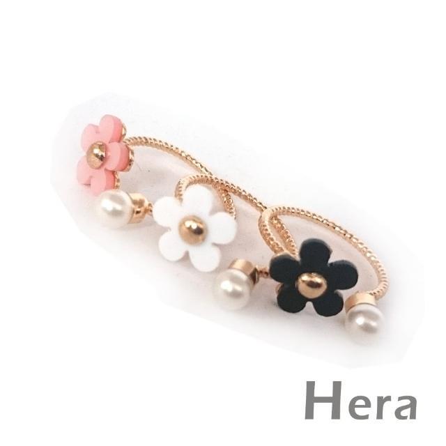 【Hera】赫拉 雛菊小花珍珠開口戒指/微調戒(三色任選)