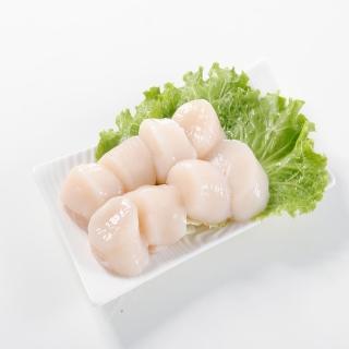 【華得水產】日本鮮甜生食級干貝1件組(500g/包)