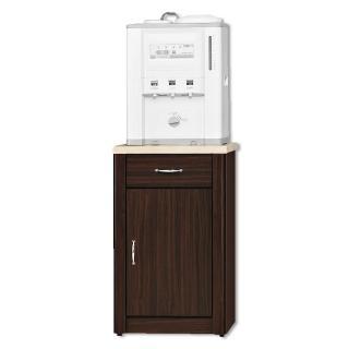 【顛覆設計】卡里胡桃色1.5尺仿石面餐櫃下座