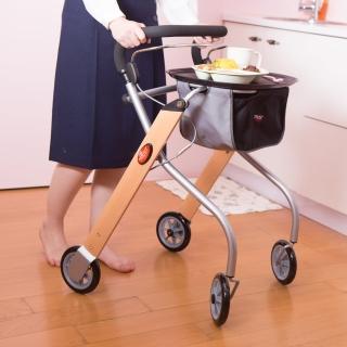 【樂活動】瑞典Trust Care居家防跌助行餐車(含專用餐盤)