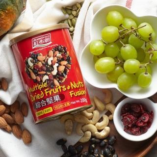 【紅布朗】綜合堅果(200gX1罐)