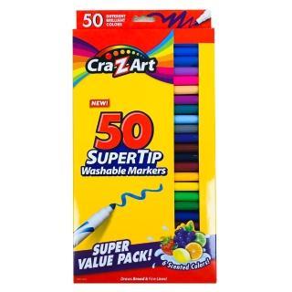 【美國Cra-Z-Art】50色可水洗彩色筆