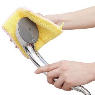 【日本aisen】浴室專用特效除污雙面菜瓜布(2包裝)