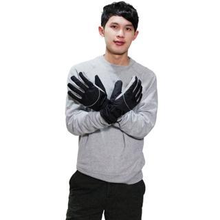 【omax】豪邁帥氣防寒潑水保暖手套
