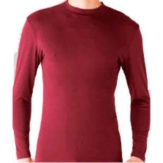 【Gunze日本郡是】保暖發熱衣 小立領 紅色(MH0410-RED)