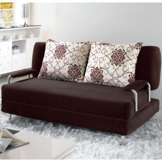 【綠活居】法恩扎多功能布面沙發床