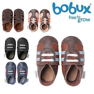 【紐西蘭 Bobux】真皮學步鞋 Soft Sole系列 - 男孩系列