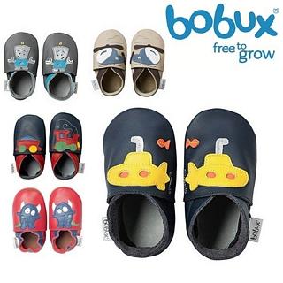 【紐西蘭 Bobux】真皮學步鞋 Soft Sole系列 - 交通系列