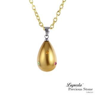 【大東山珠寶】甜心派對貝寶珠水滴長項鍊