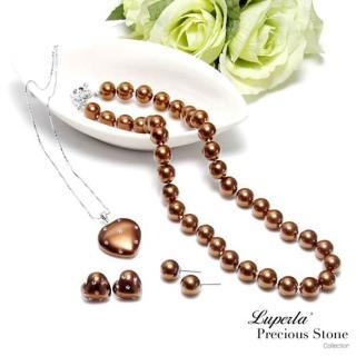 【大東山珠寶】第一夫人南洋貝寶珠 甜心佳麗豪華四件組