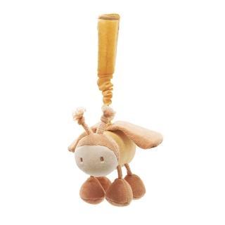 【美國miYim】有機棉推車吊掛娃娃(貝利蜜蜂)