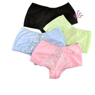 【保奈美】蕾絲平口褲4件組