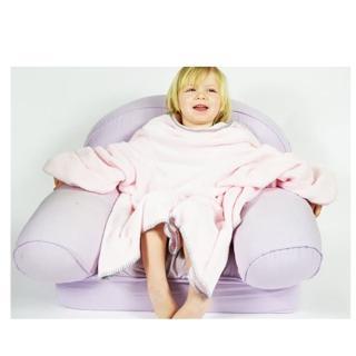 【美國 Babymoon】寶貝保暖袖毯-(粉紅圓點)