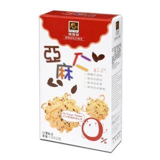 【烘焙客】無加糖餅乾(亞麻仁)