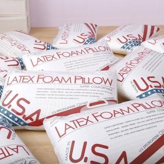 【A-nice】美國進口乳膠枕(中高型-一入)