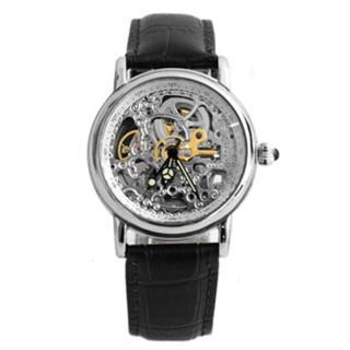 【Valentino范倫鐵諾】原廠公司貨 雙面鏤空設計自動上鍊機械手錶腕錶