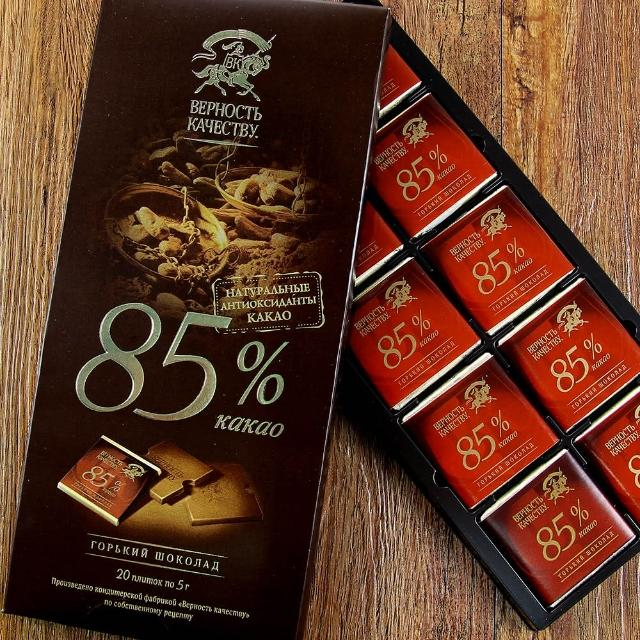 【BK】85%黑巧克力 100g