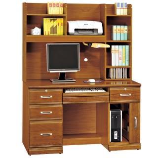 【時尚屋】雅安樟木實木4.2尺電腦桌(259-3)