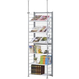 【巴塞隆納】K6型伸縮屏風書架展示架置物架