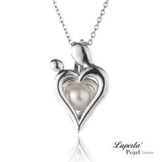 【大東山珠寶】心心相印珍珠項鍊