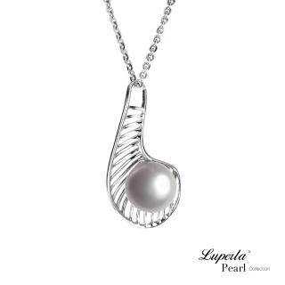 【大東山珠寶】純銀珍珠項鍊情網(兩色)