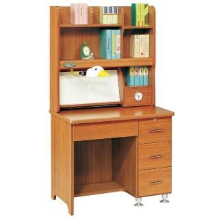 【時尚屋】和興柚木色書桌(265-1)