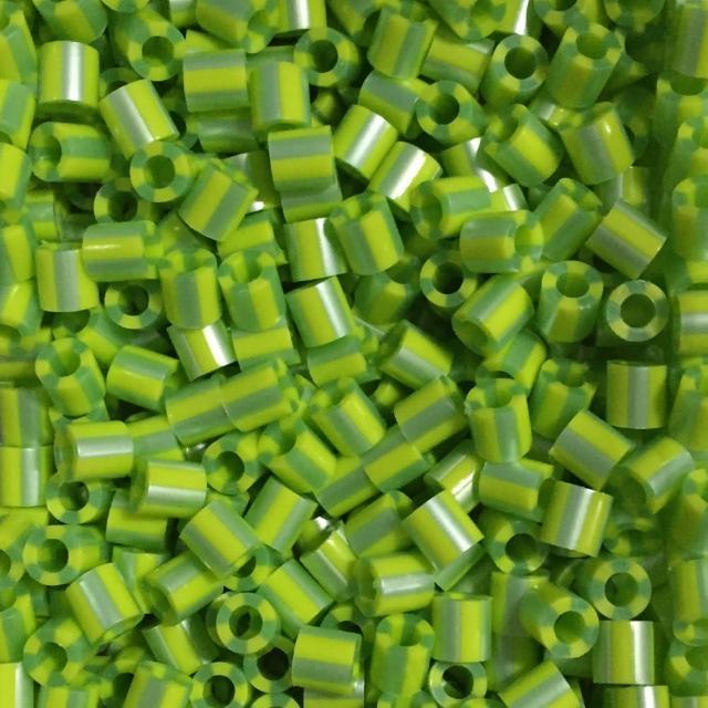 【Perler 拼拼豆豆】1000顆單色補充包-141芥末條紋(特殊色)