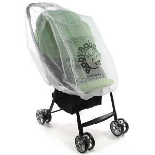 【Babybabe】嬰兒手推車加大蚊帳
