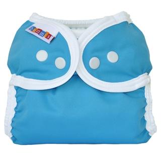 【加拿大Bummis】原裝輕型環保尿布兜(淺藍 - 單尺寸 4-16公斤)