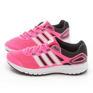 【Adidas】女款 Duramo 6 W輕量慢跑鞋(M18358-桃粉)