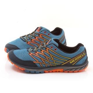 【MERRELL】男款BARE ACCESS TRAIL輕量慢跑鞋(ML01625-藍)