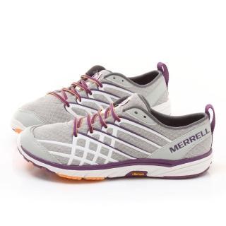 【MERRELL】女款 Bare Access ARC2輕量慢跑鞋(ML48802-灰紫)