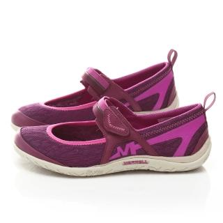 【MERRELL】女款 城市輕戶外休閒鞋(ML53152-紫)