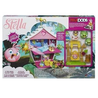 【孩之寶流行玩具】粉紅史黛拉洋房遊戲組(A8886)