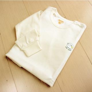【GMP BABY】柔軟羊寶貝羊毛平領衛生衣1件(110CM)