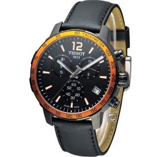 【TISSOT】T-SPORT 天梭飆速計時腕錶(T0954173605701)
