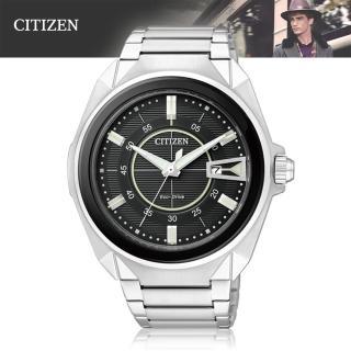 【CITIZEN 星辰】光動能-時尚紳士腕錶(AW1021-51E)