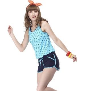 【SARBIS】大女兩件式泳裝(附泳帽B82417)