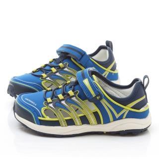 【Merrell】大童 多功能戶外運動鞋(ML95557-藍)