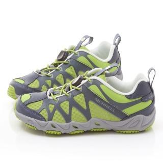 【Merrell】大童 水陸兩棲多功能運動鞋(ML95571-黃)